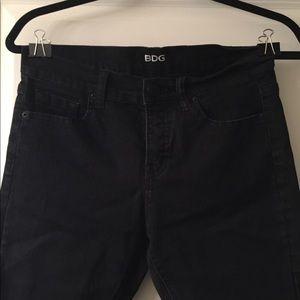 BDG mid ride twig skinny jean-black
